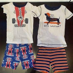 Set of 2 boys pajamas